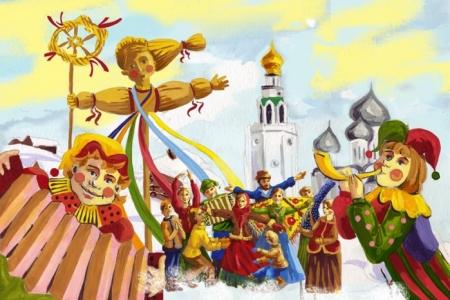 Праздник «Как Масленица со двора съезжала»