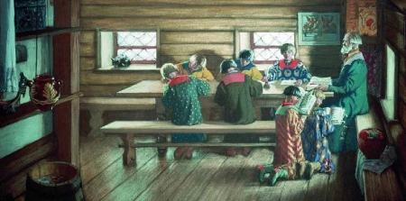 Исторический час «Как учились на Руси»