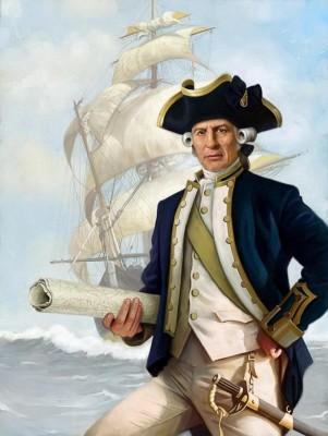 Жил отважный капитан…