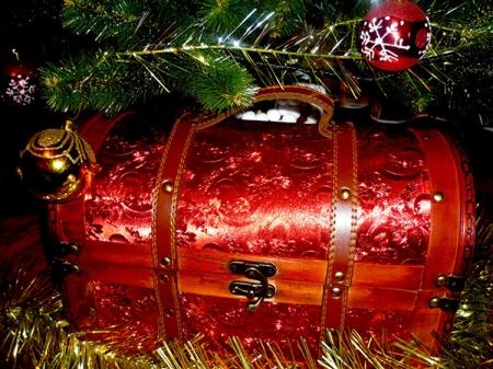 Квест «Вперед! За сокровищами Деда Мороза!»