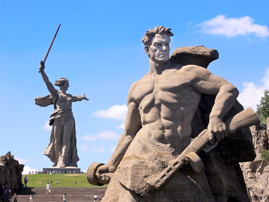 Вечный огонь Сталинграда