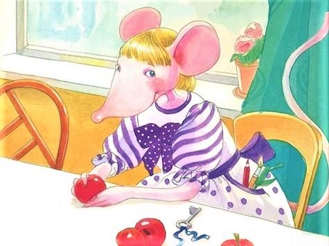 «Цветные и полосатые дни мыши Гликерии»