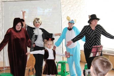 Мини-фестиваль «День детского театра»