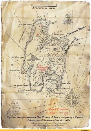 Стивенсон Р.Л. Остров сокровищ