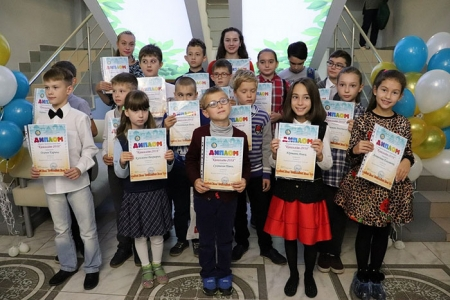 Награждение победителей программы летних чтений «Летние фантазии»