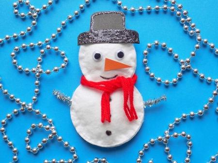 Мастер-класс Веселый снеговик