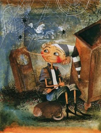 Читаю и смотрю: История деревянного мальчишки