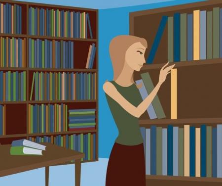 Онлайн-квест «Помоги библиотекарю расставить книги»