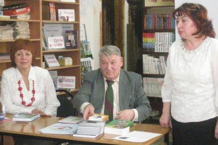 Встреча с самарскими писателями
