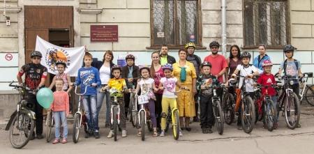 Детский библиотечный велопробег