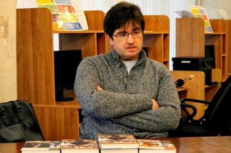 Творческая встреча с Дмитрием Агалаковым