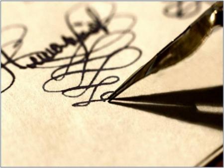 Письмо - почерк - личность