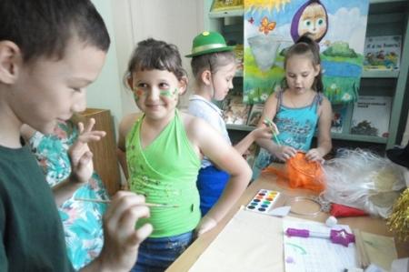 День  волшебного рисования «Разноцветное лето»