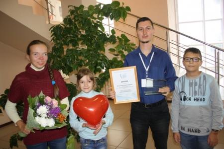 Поздравляем победителя областного конкурса «Профессиональное признание -2016» - Михаила Ицковича.