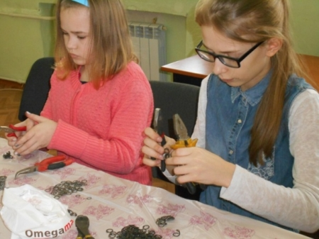 Основы плетения кольчуги: мастер-класс
