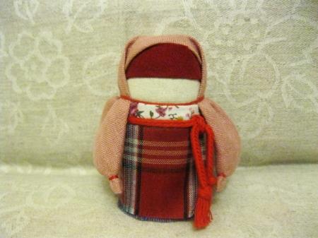Мастер-класс по изготовлению куклы-оберега