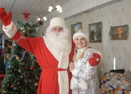 Чародей-вечер «В гостях у Дедушки Мороза»