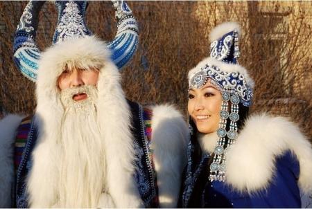 Дедушка мороз у разных народов России